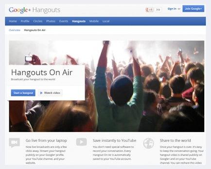 Googles Hangout on Air: Drohen Abmahnungen bei fehlender Rundfunklizenz?