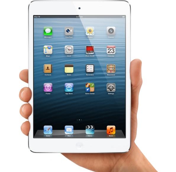 Das iPad Mini mit 7,9-Zoll-Display, Dual-Core-Prozessor, 5-Megapixel-Kamera, Lightning-Connector und LTE-Funkmodul.