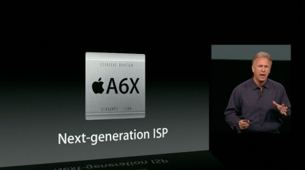 Das iPad mit Retina-Display hat nun einen A6X-Chip, der angeblich doppelt so viel Leistung zur Verfügung stellt.