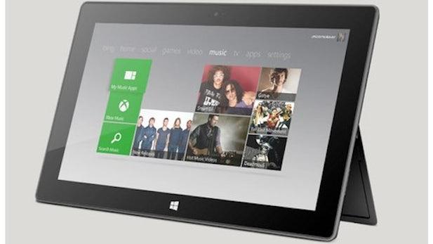 Microsoft Surface:  Windows 8 und RT-Tablets gegenübergestellt