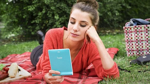 txtr Beagle: 5-Zoll-E-Reader soll zum Kampfpreis von 10 Euro kommen
