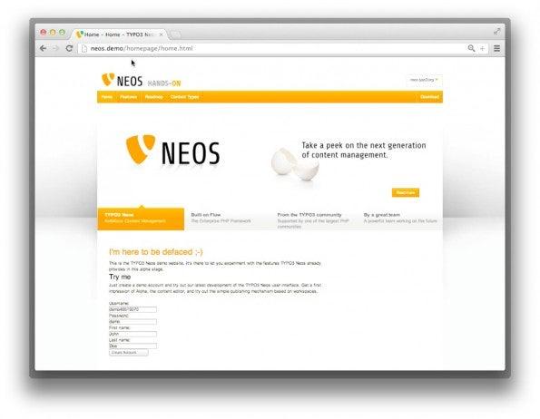 Kundenfeedback soll die Entwicklung von TYPO3 Neos beeinflussen.