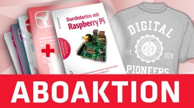 """t3n-Aktion: """"Durchstarten mit Raspberry Pi"""" – Jetzt deine Chance nutzen!"""