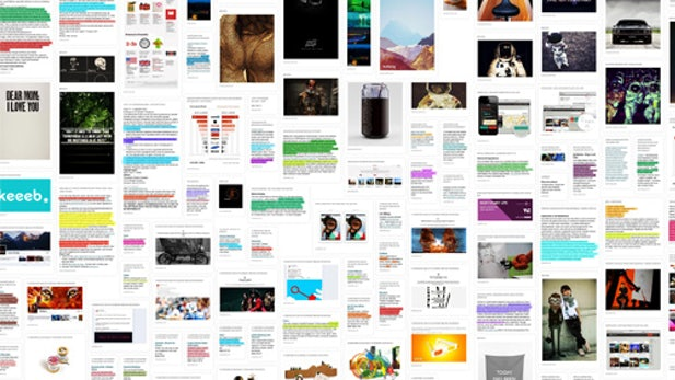 Sponsored Post: Keeeb - Information-Overload adé! Online-Recherche kann Spaß machen