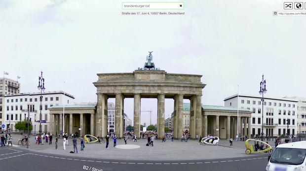 Google Street View: Mit QSView schneller ans Ziel kommen