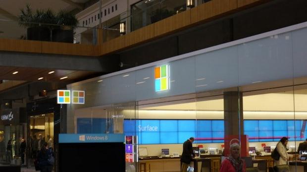 Microsoft soll 2013 auch Retail Stores in Europa eröffnen