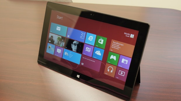 Microsoft Surface ausprobiert [Video+Galerie]