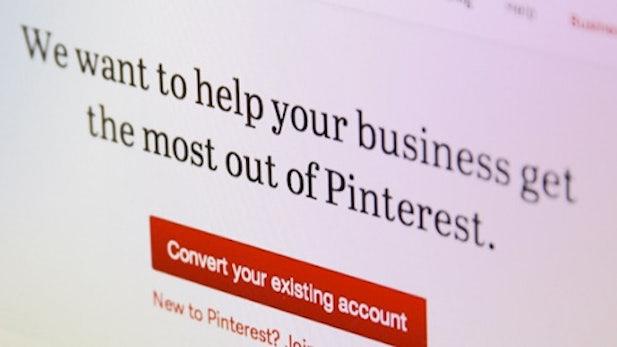 Pinterest bekommt Unternehmensprofile