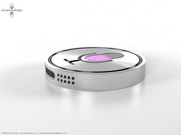 iSiri ist ein Designkonzept, mit dem sich Apples Sprachassistent Siri fernbedienen lässt (Bild: Frederico Ciccarese).