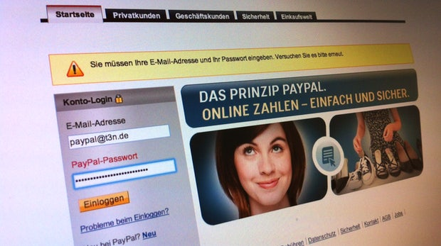 Anonymous will 28 000 PayPal-Logins veröffentlicht haben (Update: Fake!)