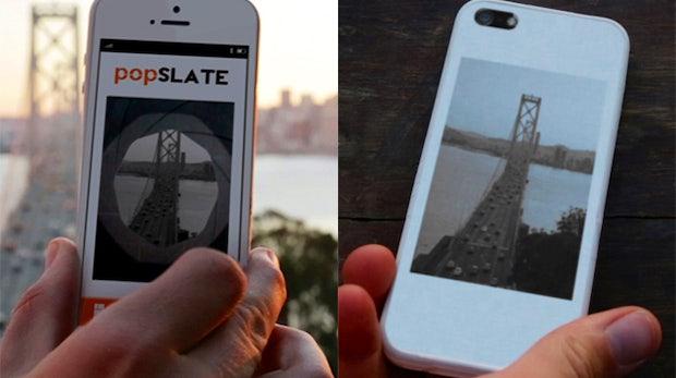 popSLATE-Hülle macht iPhone-5-Rückseite zum E-Ink-Screen