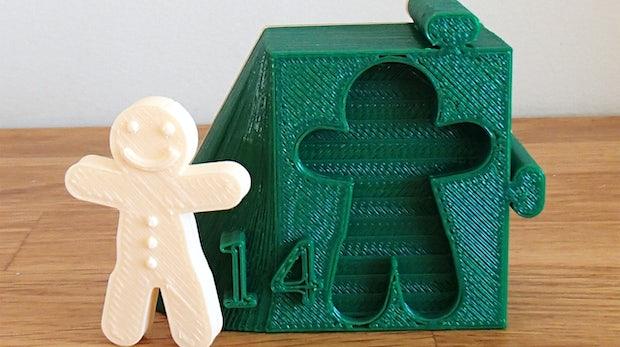 3D-Printer: Adventskalender einfach selber drucken