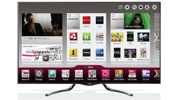 LG nennt erste Details neuer Google TV's [CES 2013]