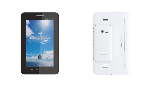 TransPhone Pro: Aufgehübschter PadFone-2-Rivale zum halben Preis