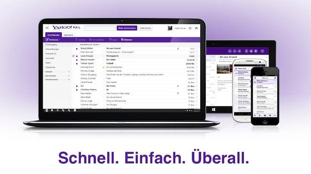 Yahoo Mail: Marissa Mayer präsentiert großes Redesign