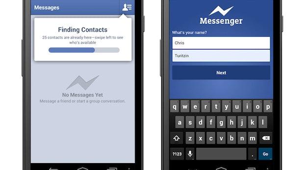 Facebook Messenger zukünftig ohne Facebook-Account nutzbar