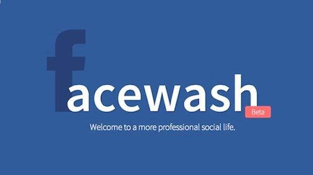 FaceWash: Reinige dein Facebook-Profil vor dem Start der Graph Search
