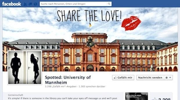 "Neuer Facebook-Trend: ""Spotted""-Communities"