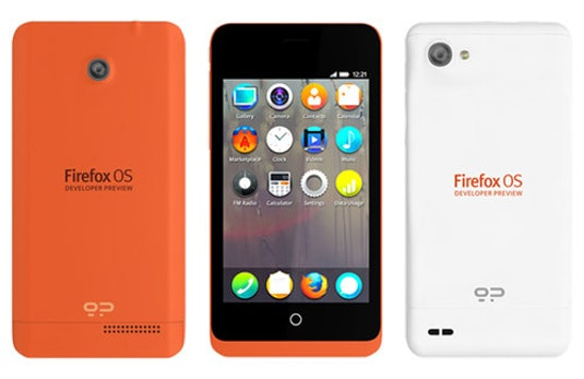 Mozilla bringt erste Firefox OS Smartphones auf den Markt
