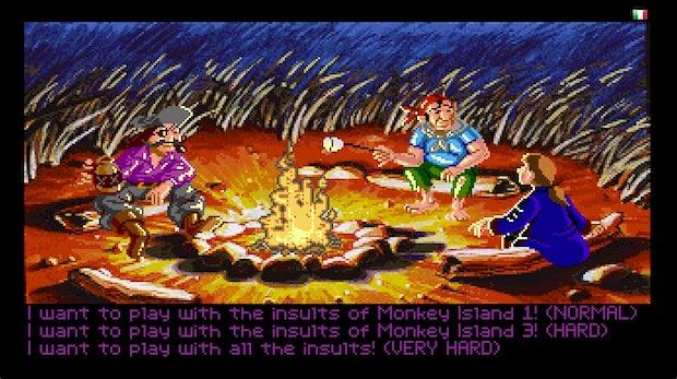 Monkey Island: Beleidigungsfechten kostenlos im Browser spielen