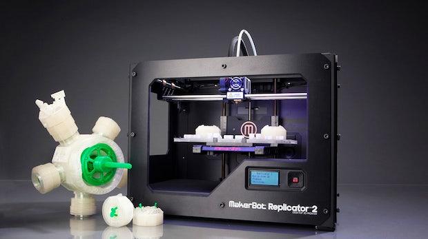 Makerbot Replicator 2: 3D-Drucker im Praxistest