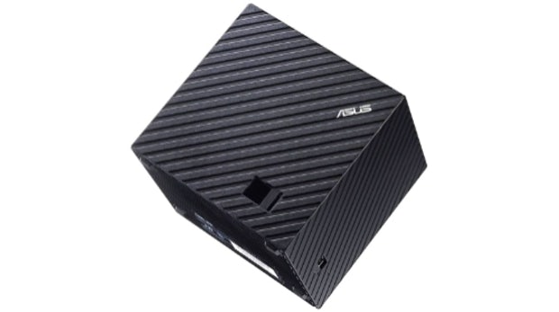 Asus Qube: Mediabox mit Google TV im Video [CES 2013]
