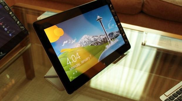 Asus VivoTab Smart: Günstiger Einstieg in die Welt der Windows-8-Tablets [CES 2013]