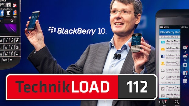 BlackBerry Z10 und Q10 [TechnikLOAD 112]