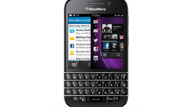 BlackBerry Q10: QWERTZ-Tastatur, LTE und BlackBerry 10