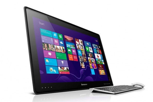 Im normalen Betrieb fungiert das Lenovo IdeaCentre Horizon als All-in-One-PC. (Quelle: Lenovo)