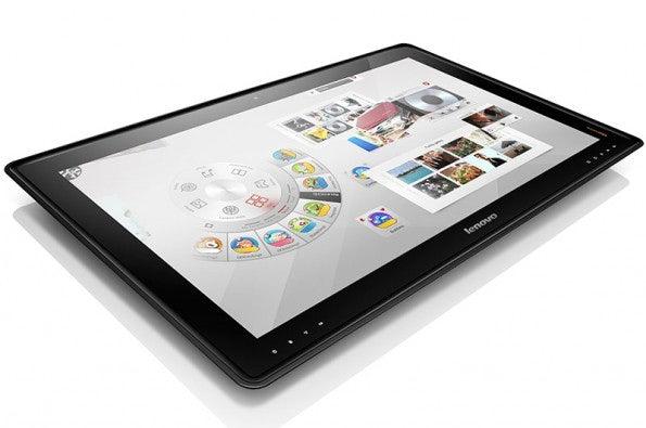 Lenovo IdeaCentre Horizon: Touch-Display erkennt bis zu 10 Eingaben gleichzeitig. (Quelle: Lenovo)