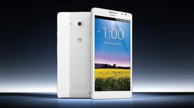 Kolossal: Huawei stellt Ascend Mate mit 6,1 Zoll HD-Display vor [CES 2013]