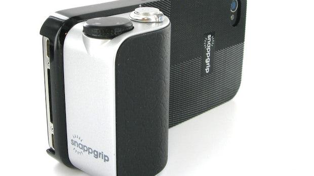 Snappgrip Case verwandelt Galaxy S3 und iPhone in echte Kamera