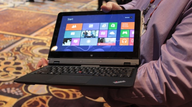 Lenovo ThinkPad Helix: Das perfekte Windows-8-Convertible? [CES 2013]