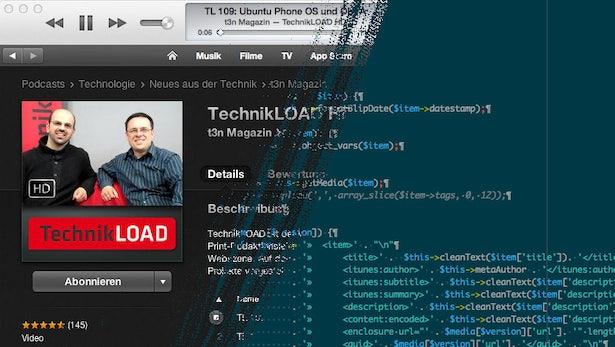 Making of: So stellen wir unsere TechnikLOAD-Videos bei iTunes ein