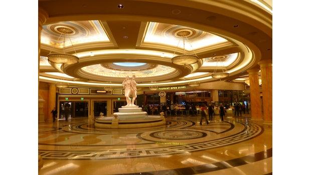 """Eingangsbereich des """"Ceasar's Palace"""""""