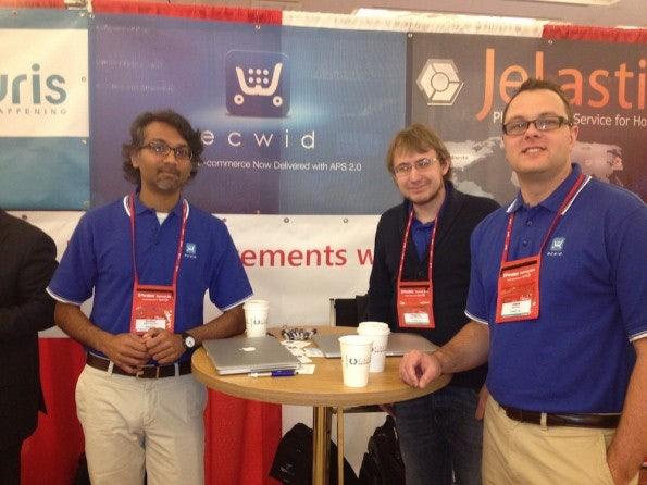 Die Jungs von Ecwid, einem Shopping-Tool für Facebook Pages und Blogs.