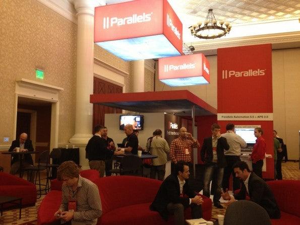 Im Ausstellungsbereich des Parallels Summit.