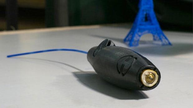 3D-Drucker-Stift: Mit Plastik in der Luft zeichnen