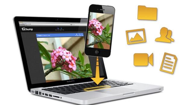 Bump-Update: Jetzt Daten aller Art zwischen Desktop und Phone hin- und herschicken