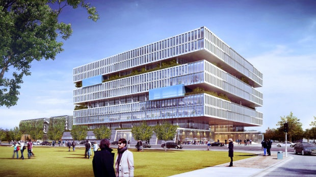 Samsungs neuer Silicon-Valley-Campus bietet Gartenanlagen und Frischluft auf allen Etagen [Galerie]