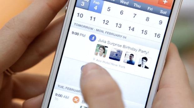 Sunrise: Geniale Kalender-App fürs iPhone bezieht Google+ und Facebook mit ein