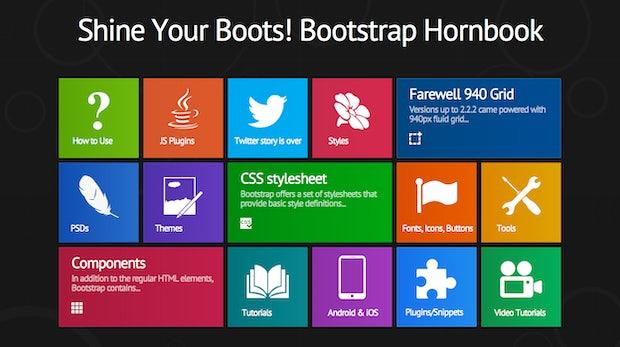 Bootstrap Framework: Interaktive Infografik erleichtert den Einsteig