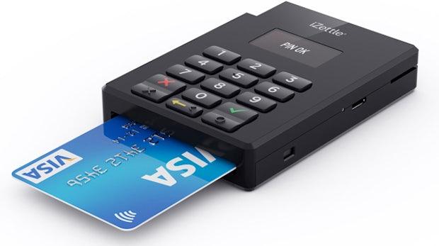 iZettle startet mobilen Kartenleser mit zusätzlicher Pin-Eingabe