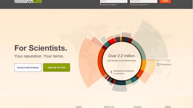 Startup-Portrait Researchgate: Das Facebook der Wissenschaft kommt aus Deutschland
