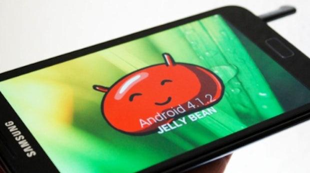 Galaxy Note: Samsung gibt Update auf Android 4.1.2 frei