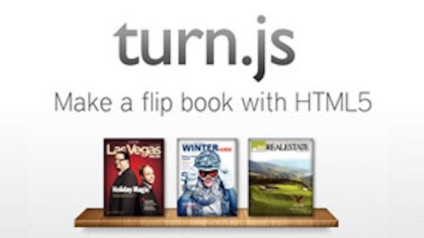Turn.js: Page-Flip-Effekte mit HTML5 statt Flash