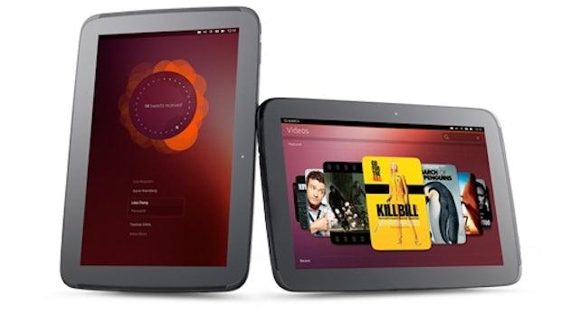 Ubuntu für Tablets angekündigt