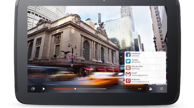 Ubuntu für Tablets auf dem Nexus 10 demonstriert [Video]