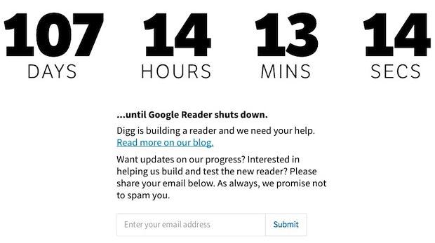 Digg will Google-Reader-Klon entwickeln